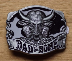"Motor buckle  "" Bad to the bone """