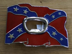 "Opener buckle  "" Rebel vlag """