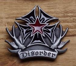 "Buckle / gesp  "" Disorder / Maltezer kruis """