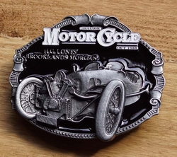 "Motor cylce buckle  "" H.c. Lones Brooklands morgan """