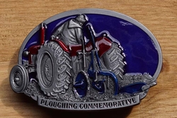 "Losse gesp  "" Ploughing commemorative """