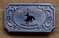 """Buckle  """" Jack Daniels Tennessee wiskey """" Cowboy UITVERKOCHT"""