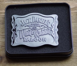 "Jack Daniel's gesp  "" White rabbit saloon """