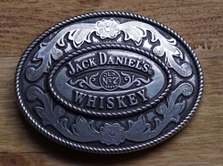 "Buckle  "" Jack Daniels Old no 7 Brand Wiskey """