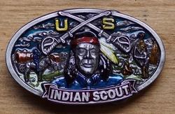 "Buckle / gesp  "" Indiaan scout """
