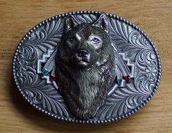 "Western gesp  "" Wolf kop """