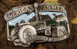"Losse gesp  "" American Farmer ""  UITVERKOCHT"