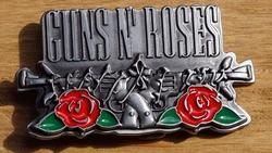 "Belt buckle  ""  Guns N' Roses ""   UITVERKOCHT"