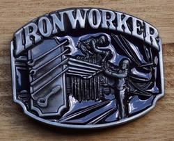 """Losse gesp  """" Iron worker """"  ( Metaal bewerker )"""
