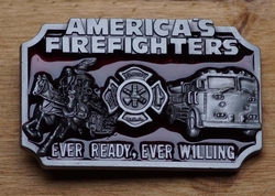 "Losse gesp  "" American fire fighters  ""  ( Brandweerman )"
