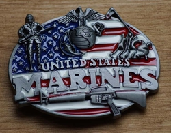 "Gesp buckle  ""  United States Marines """