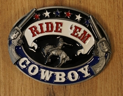 "Western buckle  "" Sheriff ster """