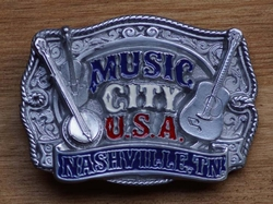 "Country Buckle  "" Music city u.s.a.   Nasville  UITVERKOCHT"