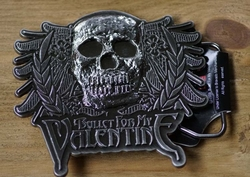 "Muziekband buckle  "" Bullet for My Valentine """