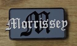 "Music buckle  "" Morrissey """
