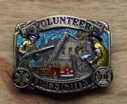 "Losse gesp  "" Volunteer firefighter """