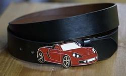 Cabriolet buckle + zwart buckle riem