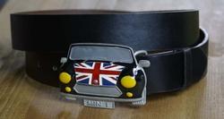 Mini buckle + zwart buckle riem