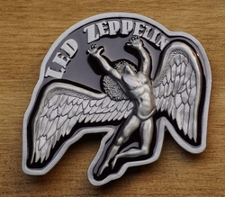 "Muziek band buckle  "" Led Zeppelin """
