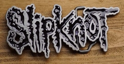 "Muziek band buckle  "" Slipknot """