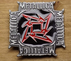 "Music band buckle  "" Metallic ""  UITVERKOCHT"