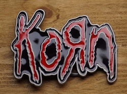 "Music band buckle  "" Korn """