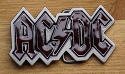 "Muziekband buckle  "" AC  DC """