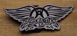 "Music band buckle  "" Aerosmith """