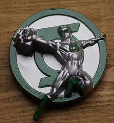 "Gesp buckle  "" Green lantern """