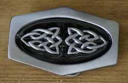 "Buckle / gesp  "" Celtic Cross Knot  """