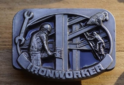 "Losse gesp  "" Iron worker ""  ( Skelet bouwer  )"