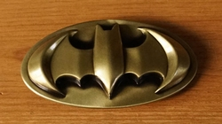"Buckle  "" Batman ""   Goud kleurig"