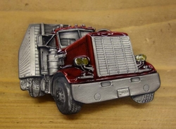 "Truck buckle   "" Trekker met oplegger """