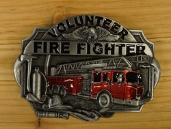 "Losse gesp  "" Volunteer fire fighter """