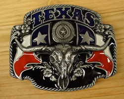 "Texas buckle  "" Longhorn  """