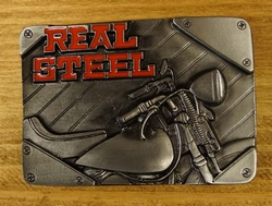 "Buckle / gesp  "" Real steel """