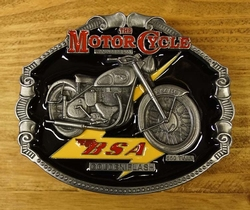 "Motor cylce buckle  "" B.S.A. """