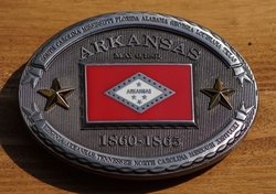 "Buckle / gesp  "" Arkansas 1860 - 1865 """