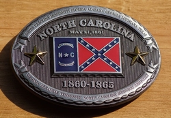 "Buckle / gesp  "" North Carolina 1860 - 1865 """