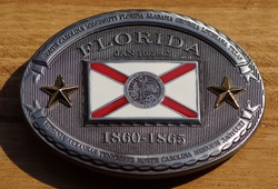 "Buckle / gesp  "" Florida 1860 - 1865 """