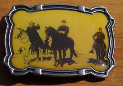"Western buckle  "" James gang """