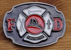 "Losse gesp  "" Logo firefighter """