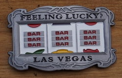 "Buckle "" Feeling Lucky ?  Las Vegas ""    Gokkast"
