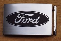 """Automerk buckle  """"  Ford """"  Zilverkleurig"""