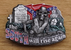 "Belt buckle   "" The south will rise """