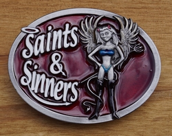 "Humor gesp  "" Saints & sinner  """