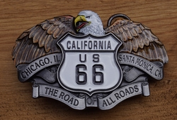"Buckle / gesp "" California route 66 """