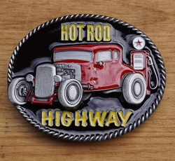 "Muziek gesp  "" Hot rod highway """