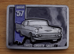 "Verzamel buckle  "" American 57, sweet, smooth, sassy """