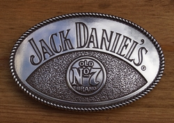 "Buckle  "" Jack Daniels Old no 7 brand """